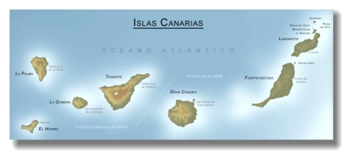 Cartina Spagna Fuerteventura.Alidalbatros